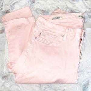 Like New Vigoss Pink Jagger Skinny Jeans